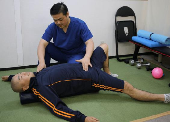 運動療法(可動域改善プログラム)